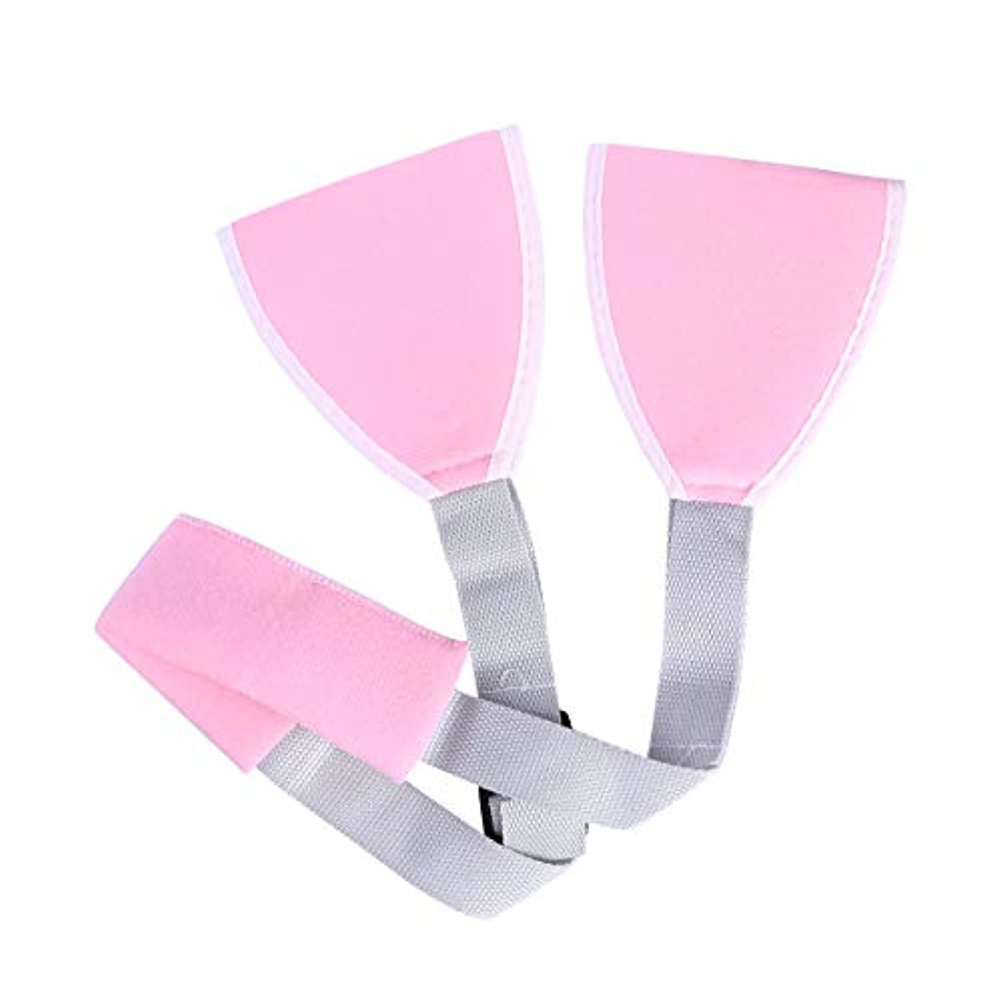 プラスチックレギュラー限りHealifty アームスリング アームホルダー アームスリング アームのサポート 調節可能 通気性 調節可能 腕の骨折?脱臼時のギプス固定 医療用スリング(ピンク)