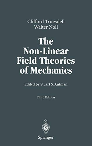 Download The Non-Linear Field Theories of Mechanics 3540027793