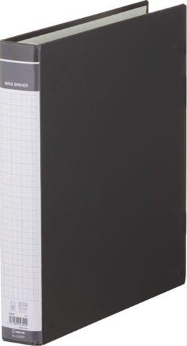 キングジム リングバインダー BF A4S 669BF 黒