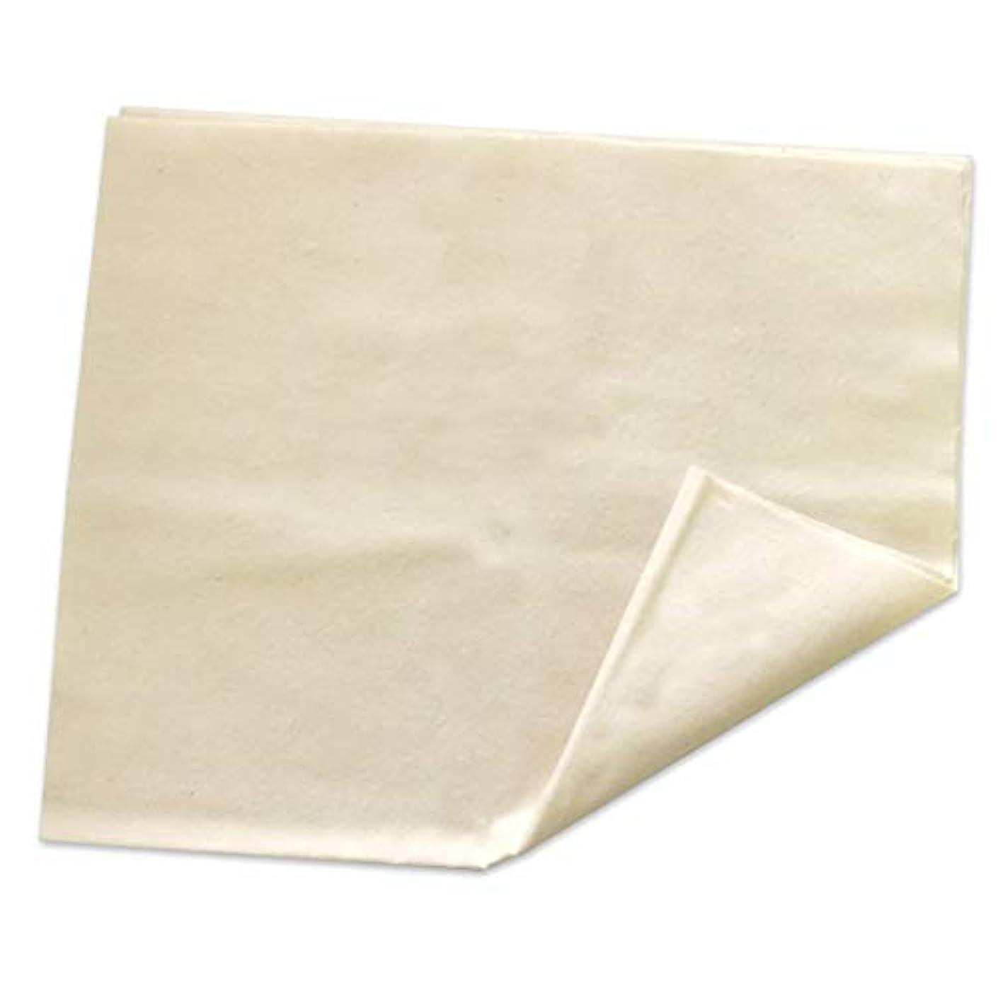 テクニカル発表する研磨コットンフランネル (コットンネル生地、綿100%、ヒマシ油パック、パック、ひまし油パック)