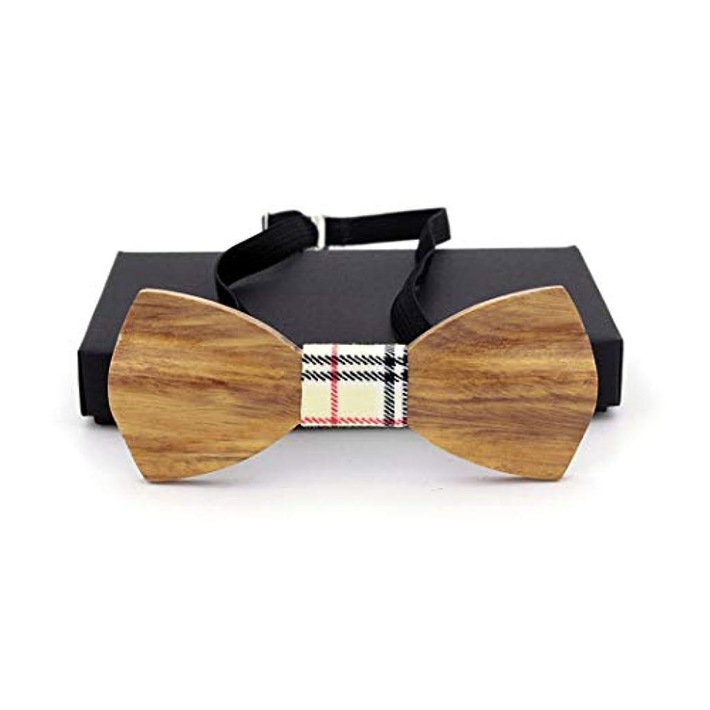 現代のインスタンス焦げSwiftgood 木製の蝶ネクタイ手作りの木製調節可能な、3D蝶木製の木製の蝶ネクタイ