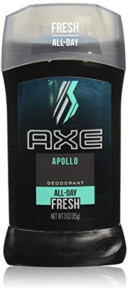 黒頑丈紳士気取りの、きざなAXE Deodorant Stick for Men, Apollo, 3 oz(アックス アポロ 85g)
