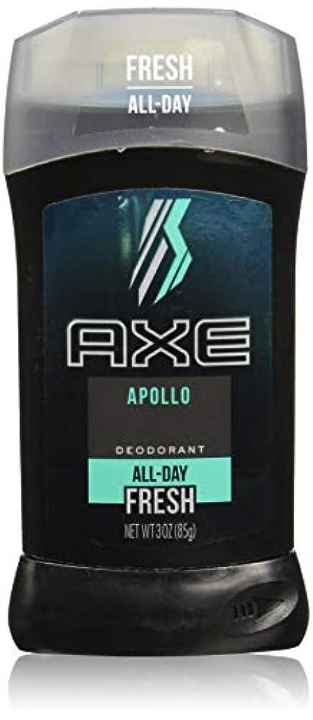 ごめんなさい接続されたエーカーAXE Deodorant Stick for Men, Apollo, 3 oz(アックス アポロ 85g)