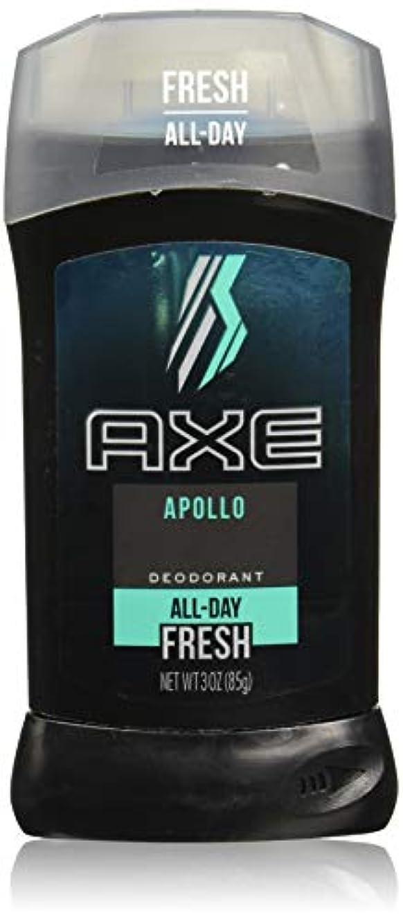 ホイール多分扱うAXE Deodorant Stick for Men, Apollo, 3 oz(アックス アポロ 85g)
