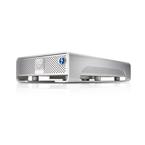 G-Technology (HGST) G-DRIVE with Thunderbolt 4TB Thunderbolt/USB3.0対応 外付けハードディスク 【3年保証】 0G03053AZ