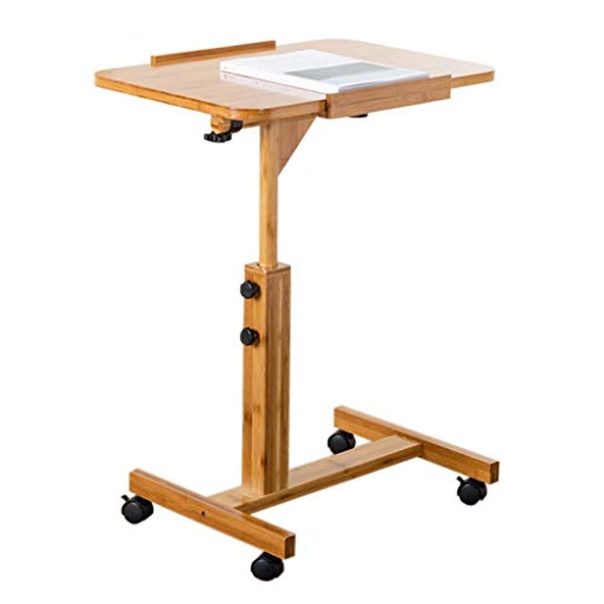ジョガー通訳ハロウィン折りたたみデスク 折りたたみ式テーブル取り外し可能なベッドサイドテーブルのラップトップテーブル、デスクトップのベッドリフトスタディテーブル、シンプルな回転式小型テーブル(長さ60cm / 70cm) A++ (サイズ さいず : 70cm)