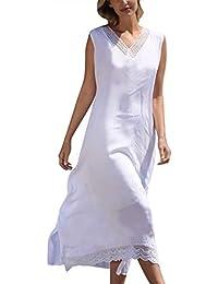 79d7897448d83 Amazon.co.jp  ホワイト - ワンピース・チュニック   ワンピース・ドレス ...