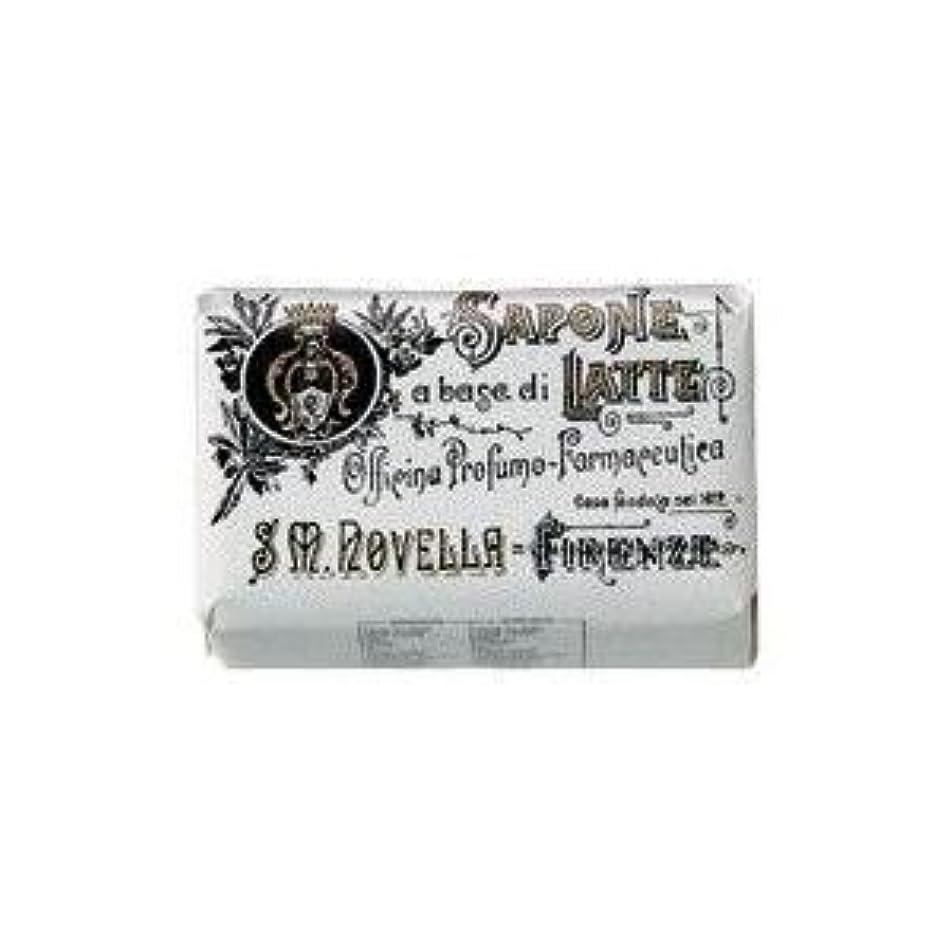 重荷スリップシューズヒューム【Santa Maria Novella(サンタマリアノヴェッラ )】ミルクソープ バーベナ 100g