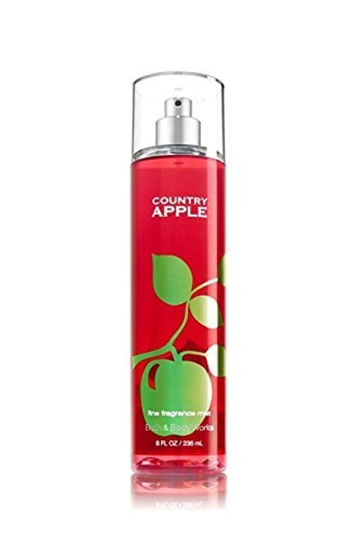 許容できる拡張モンク【Bath&Body Works/バス&ボディワークス】 ファインフレグランスミスト カントリーアップル Fine Fragrance Mist Country Apple 8oz (236ml) [並行輸入品]