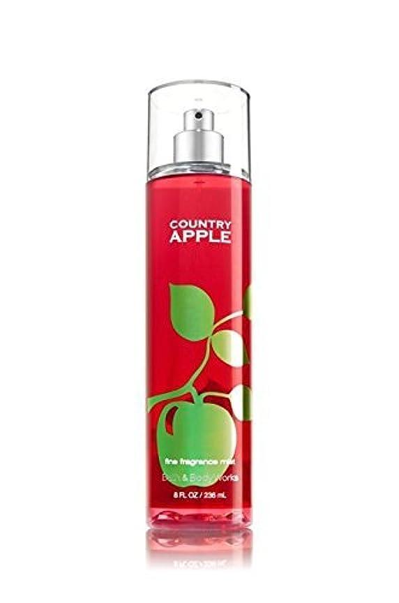 まばたきバックアップ許される【Bath&Body Works/バス&ボディワークス】 ファインフレグランスミスト カントリーアップル Fine Fragrance Mist Country Apple 8oz (236ml) [並行輸入品]