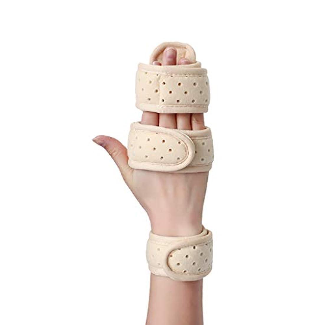 毛布飼いならす崇拝します手首ストラップ手首指指の関節ナックル固定指骨折創傷術後のケアと副木の痛みの軽減