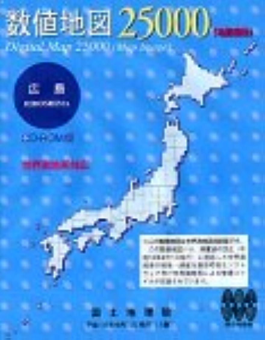 外交武器カビ数値地図 25000 (地図画像) 広島