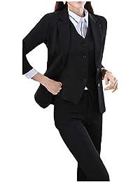 cheelot レディースロングスリーブ2ボタンビジネスファッションジャケットパンツスーツセット