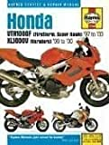 Haynes Honda Vtr1000F Firestorm (Super Hawk) & Xl1000V Varadero: Service and Repair Manual (Haynes Service & Repair Manuals)