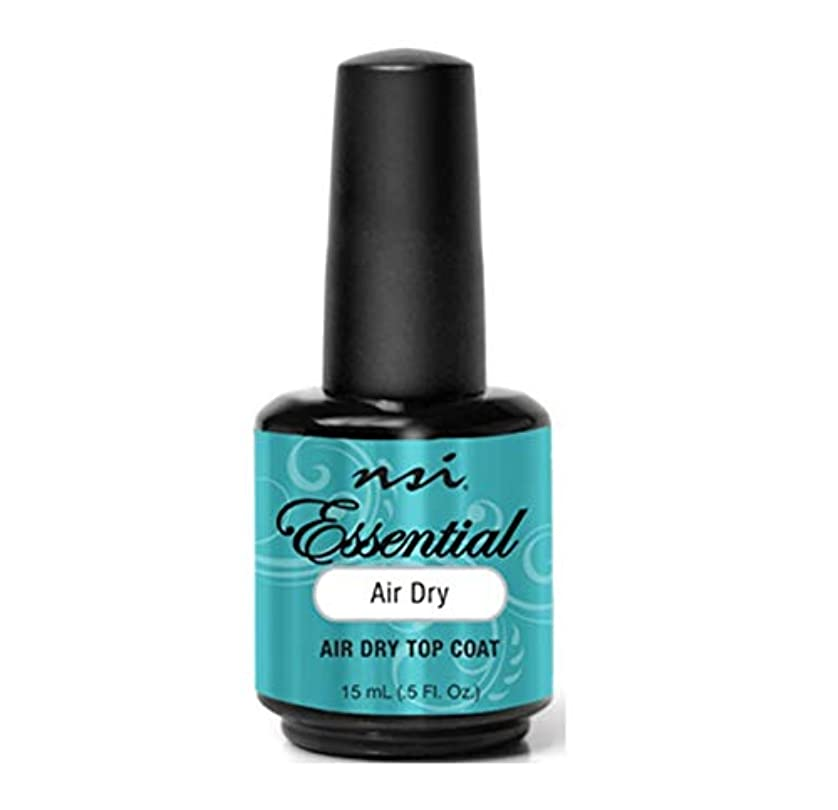 踏み台ジレンマ光のnsi - Essential - Air Dry - Top Coat - 15 mL / 0.5 oz