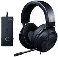 Razer RZ04-02051000-R3M1 Kraken TE Gaming HS USB Audio Control,Black