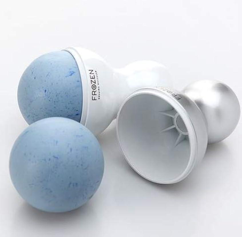 水銀のキャンディー義務づけるFrozen フェイスクーラーアイスローラーフェイスローラー顔マッサージ機構の腫れ抜き方法毛穴縮小(海外直送品)