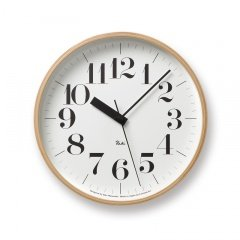 RoomClip商品情報 - 【タカタレムノス 渡辺力デザイン】Riki Clock RC/電波時計 WR07-11