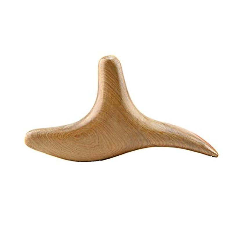 ROSENICE Guasha Board自然木材Gua Sha鍼治療のためのプレートマッサージツール
