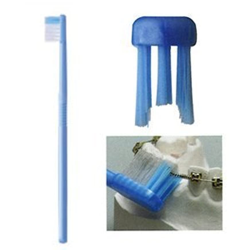 装備する買う創造ライオン オルソドンティック歯ブラシ(DENT.EXOrthodontic) 1本 (U)