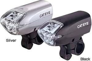 キャットアイ(CAT EYE) スーパーホワイトヘッドライト シルバー HL-EL210