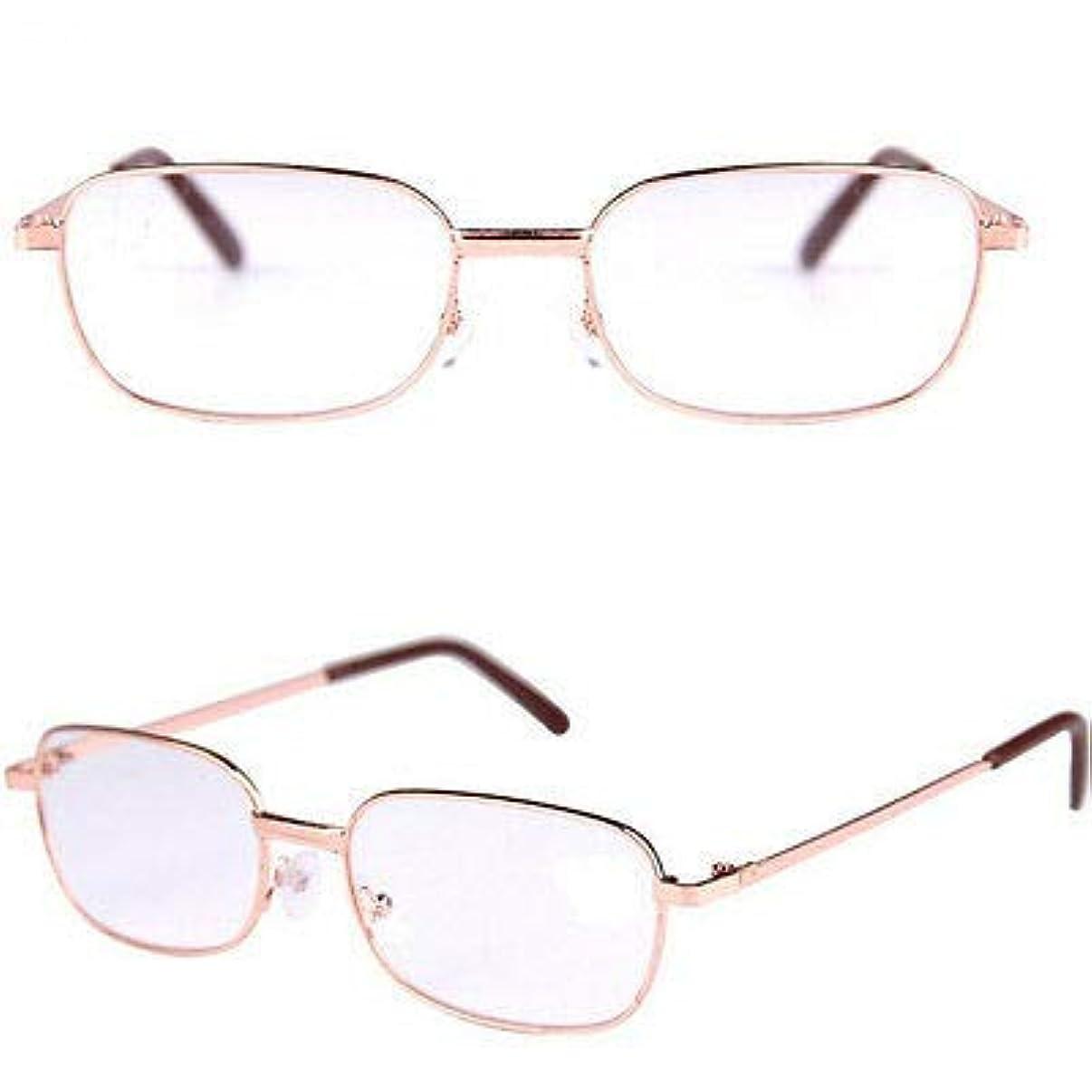 キャメル西機械的FidgetGear クラシック老眼鏡眼鏡リーダーメガネ+1.00 1.5 2.0 2.5 3.0 3.5 4.0 ゴールド