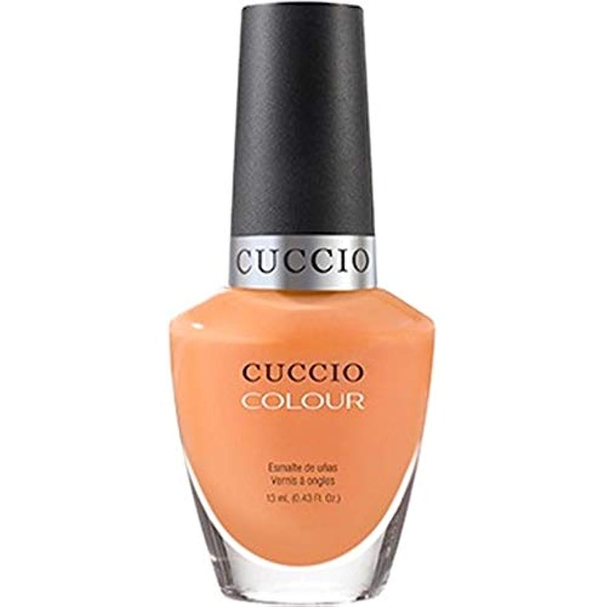 血まみれ出血明るいCuccio Colour Gloss Lacquer - Very Sherbert - 0.43oz / 13ml