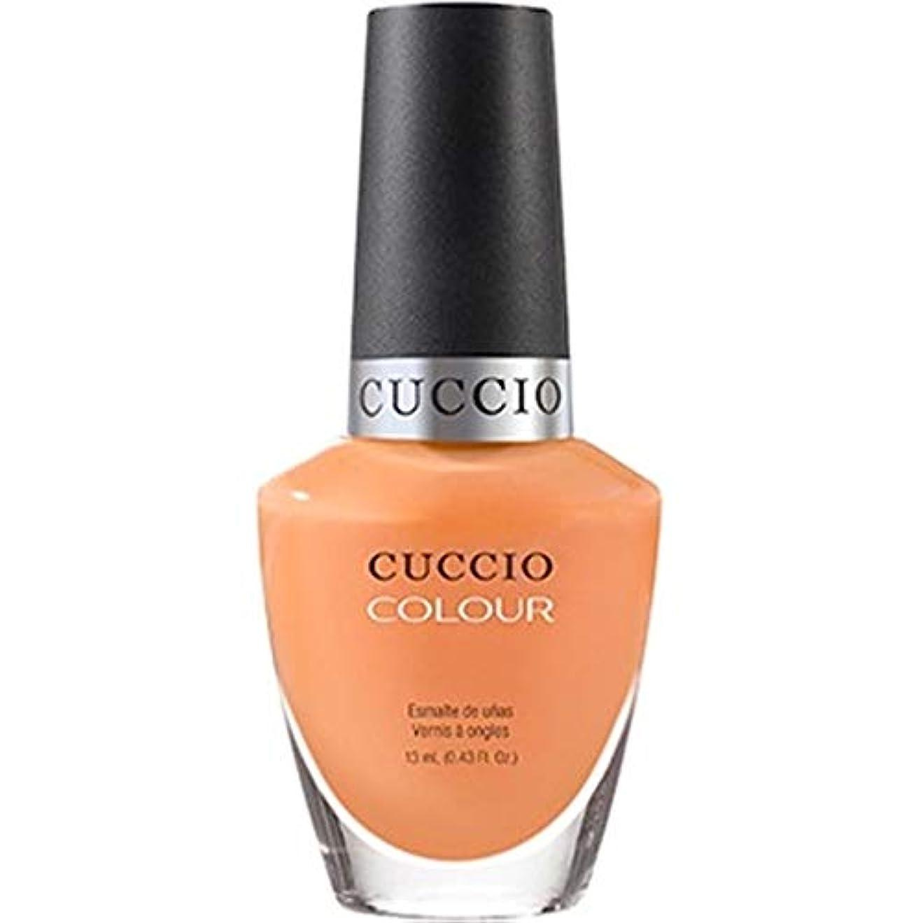 着陸人工的な終了するCuccio Colour Gloss Lacquer - Very Sherbert - 0.43oz / 13ml