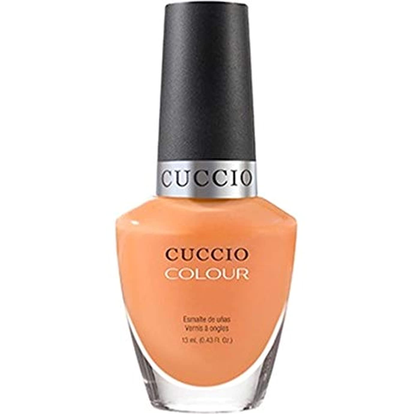 ゲートウェイラッカスありふれたCuccio Colour Gloss Lacquer - Very Sherbert - 0.43oz / 13ml