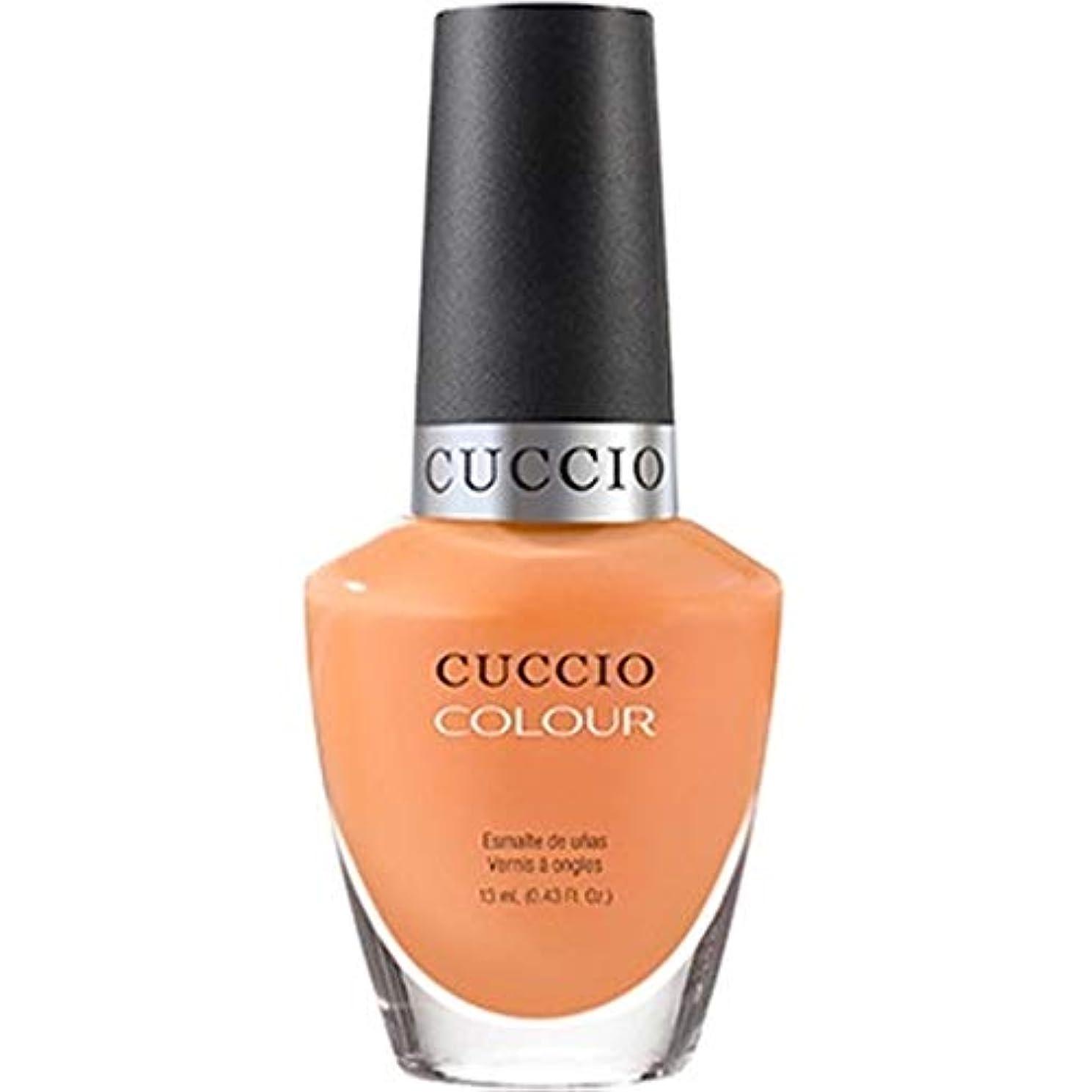 葉を集めるトリップ滅多Cuccio Colour Gloss Lacquer - Very Sherbert - 0.43oz / 13ml