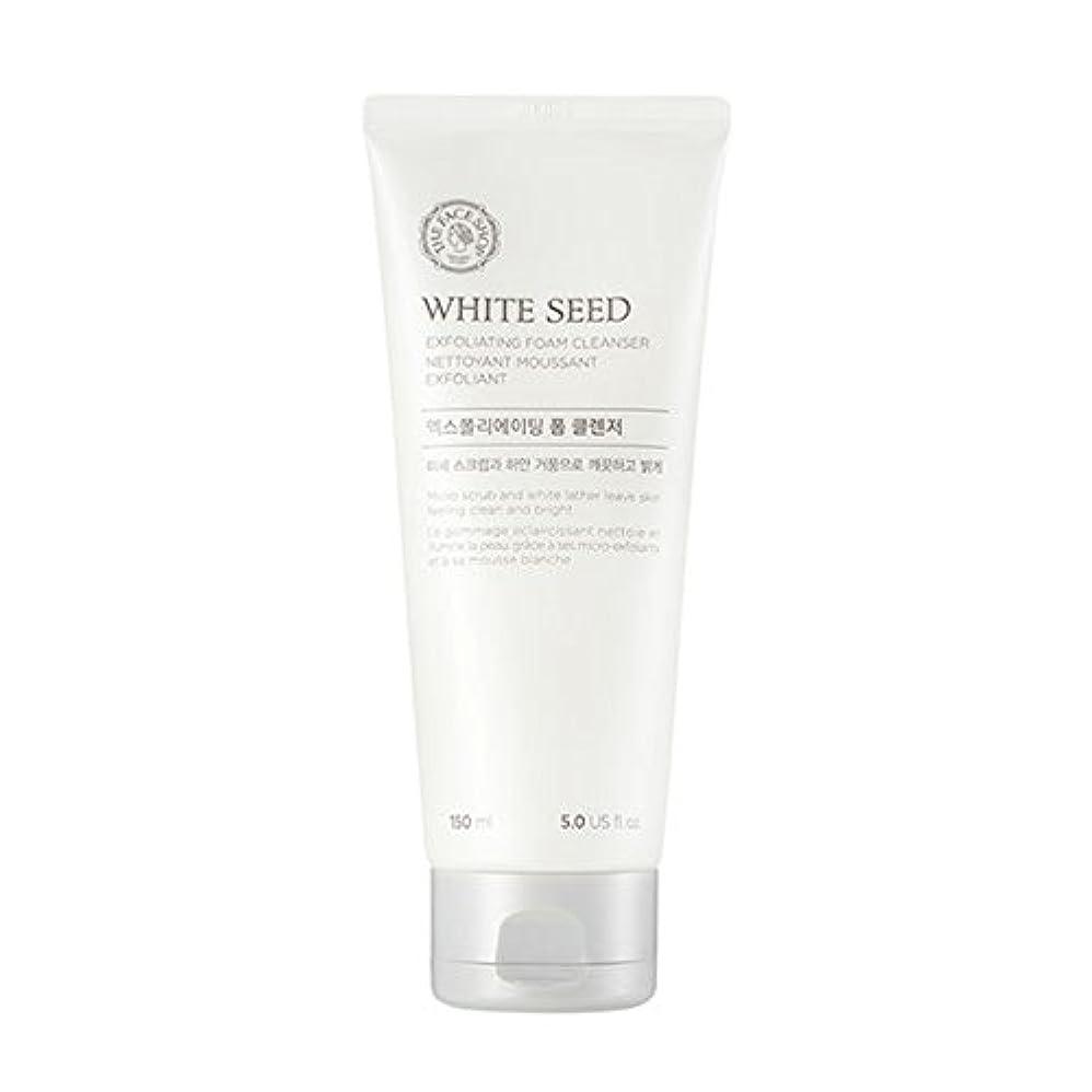 リビジョン廊下スカルク[ザフェイスショップ] The Face Shop ホワイトシードエクスフォリエイティングクレンザー(150ml) The Face Shop White Seed Exfoliating Foam Cleanser(150ml...