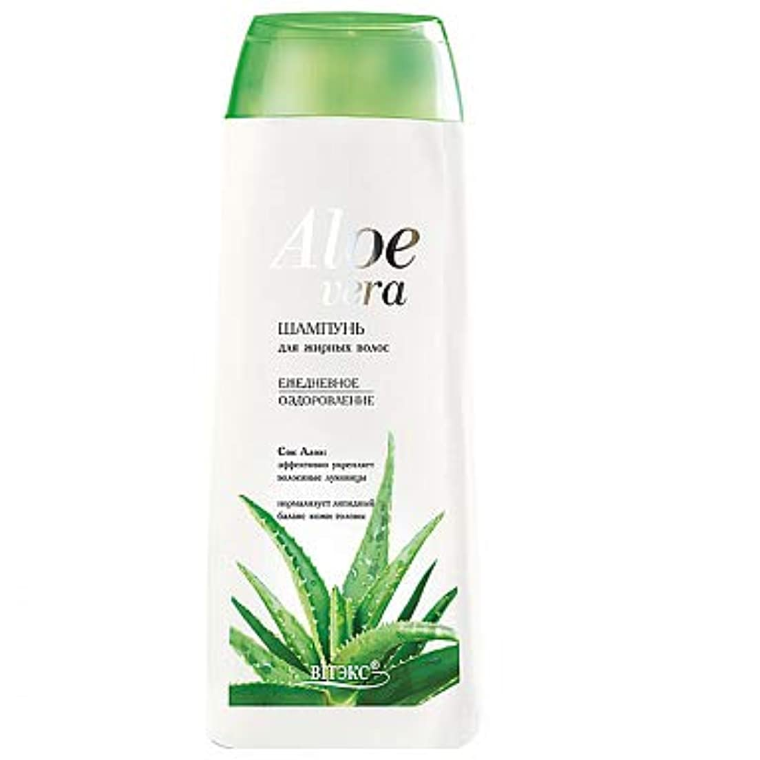 愛されし者今後効果的Bielita & Vitex | Aloe Vera Line | Daily Vitalizing Shampoo for Oily Hair | Aloe Juice | Minerals | Vitamins | 500 ml