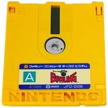 ファミコンディスクシステム ビッグチャレンジ GO!GO! BOWLING