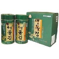竹塩生岩海苔セット (6切*180枚入り)2缶 ■韓国食品■韓国食材■韓国海苔■韓国のり ■味付のり■お弁当のり■高級のり■ギフトのり■