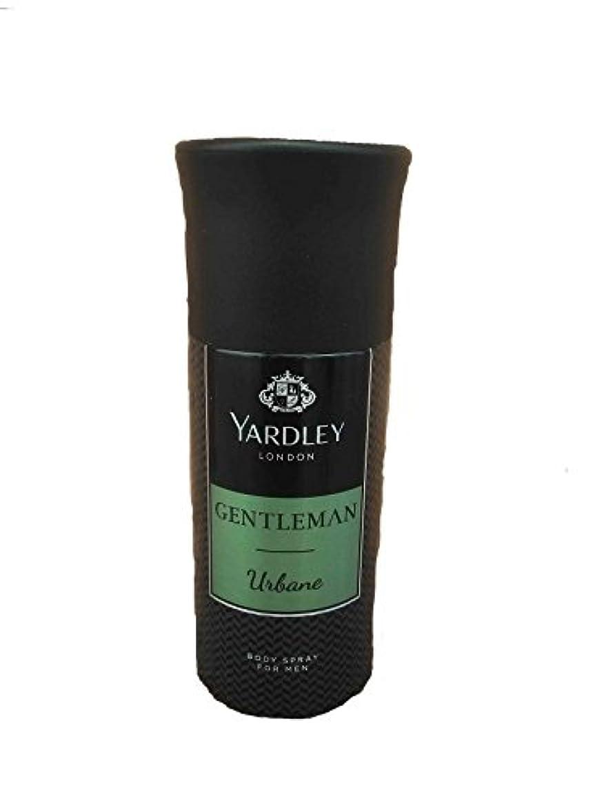 不機嫌そうなリマーク真珠のようなYardley London Gentleman Urbane Body Spray For Men 150 ML - India