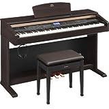 ヤマハ 電子ピアノ (ニューダークローズウッド調仕上げ)(椅子&ヘッドホン付き) YDP-V240 YAMAHA ARIUS アリウス