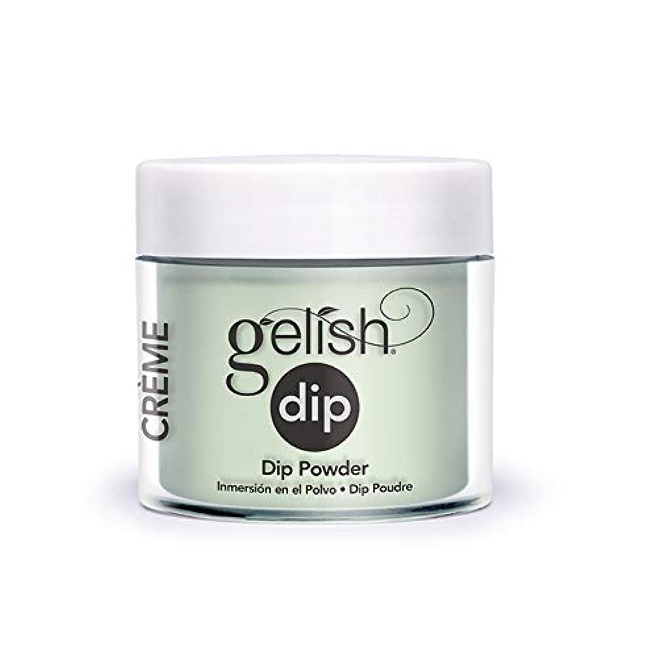 周波数小説ログHarmony Gelish - Acrylic Dip Powder - Mint Chocolate Chip - 23g / 0.8oz