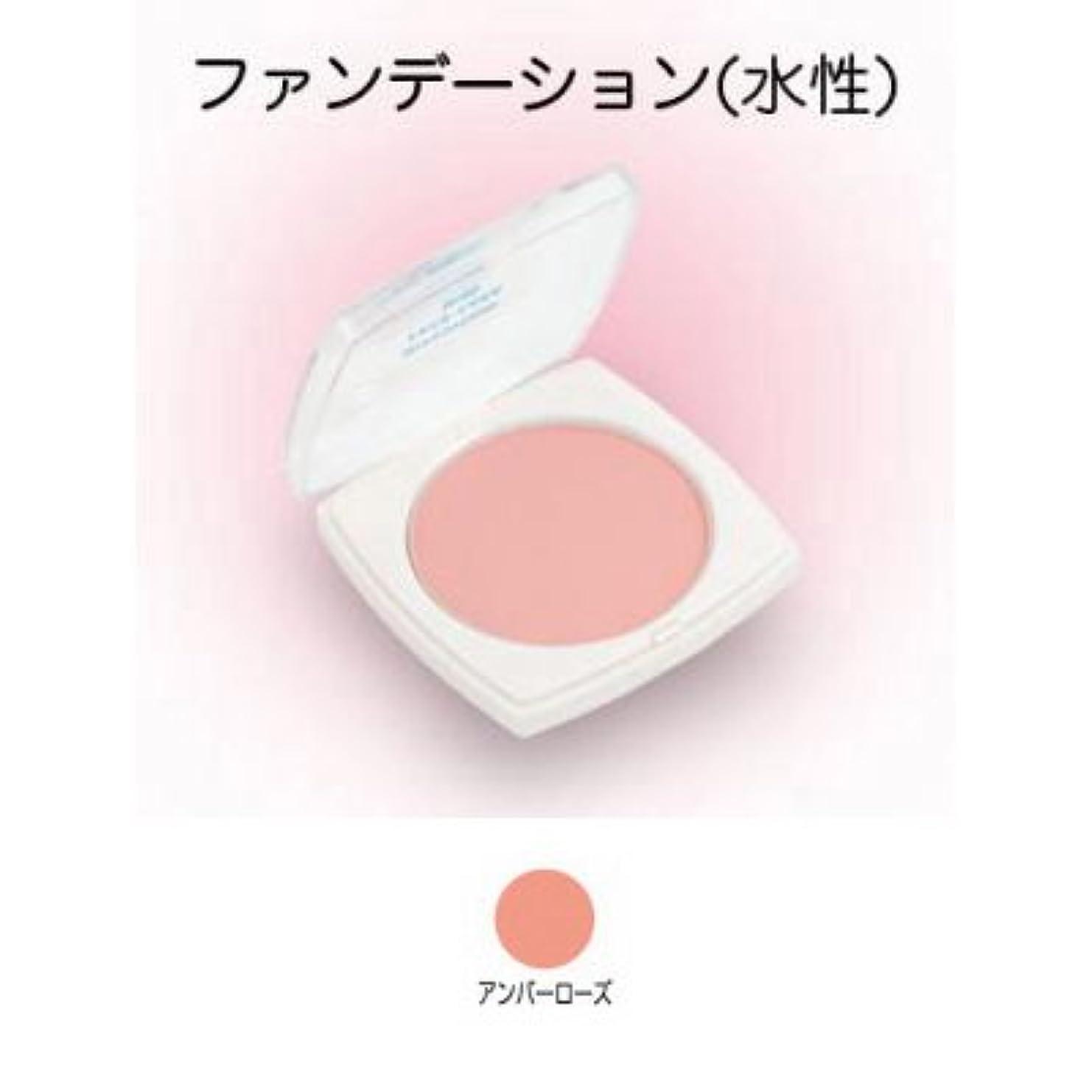 無法者蒸気適切なフェースケーキ ミニ 17g アンバーローズ 【三善】
