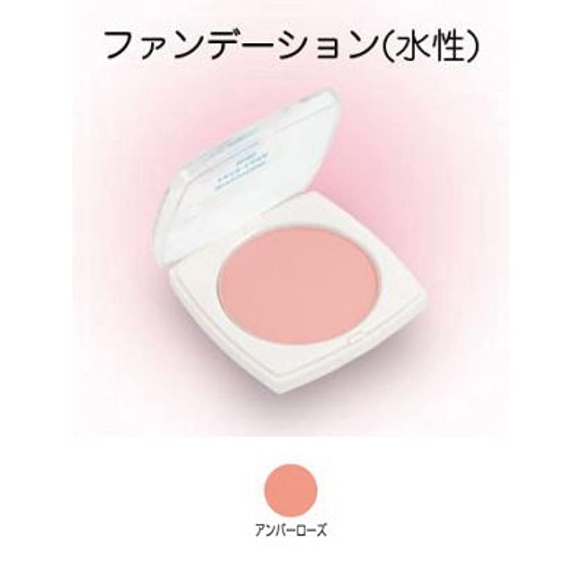 いくつかの漏れ水フェースケーキ ミニ 17g アンバーローズ 【三善】