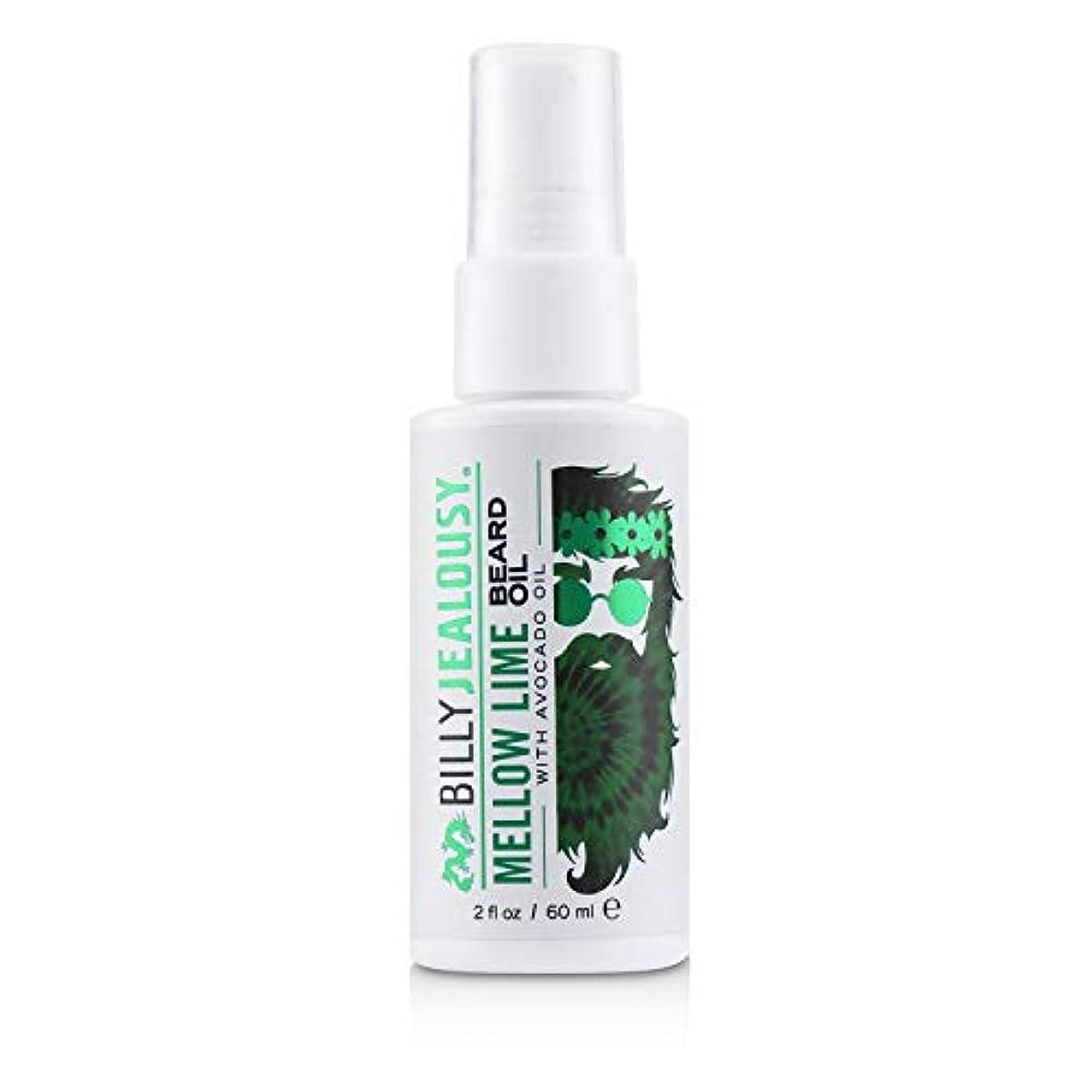 仲間、同僚岸慣れるビリージェラシー Mellow Lime Beard Oil With Avocado Oil 60ml/2oz並行輸入品