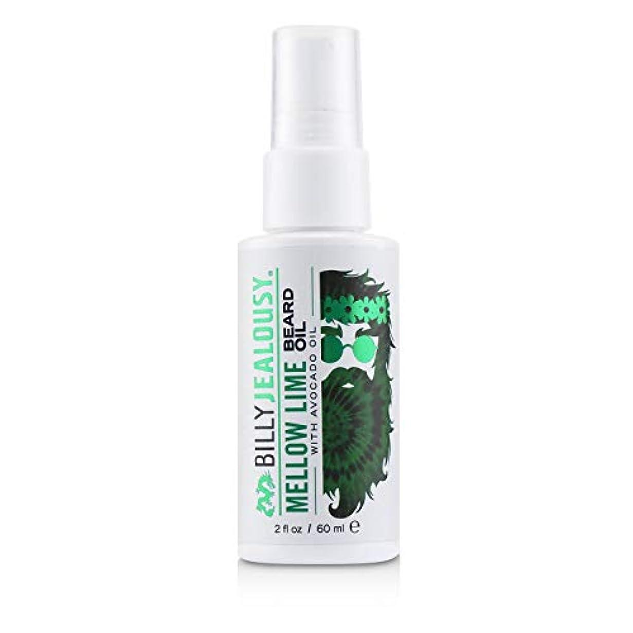 無効にするインフラ戦略ビリージェラシー Mellow Lime Beard Oil With Avocado Oil 60ml/2oz並行輸入品
