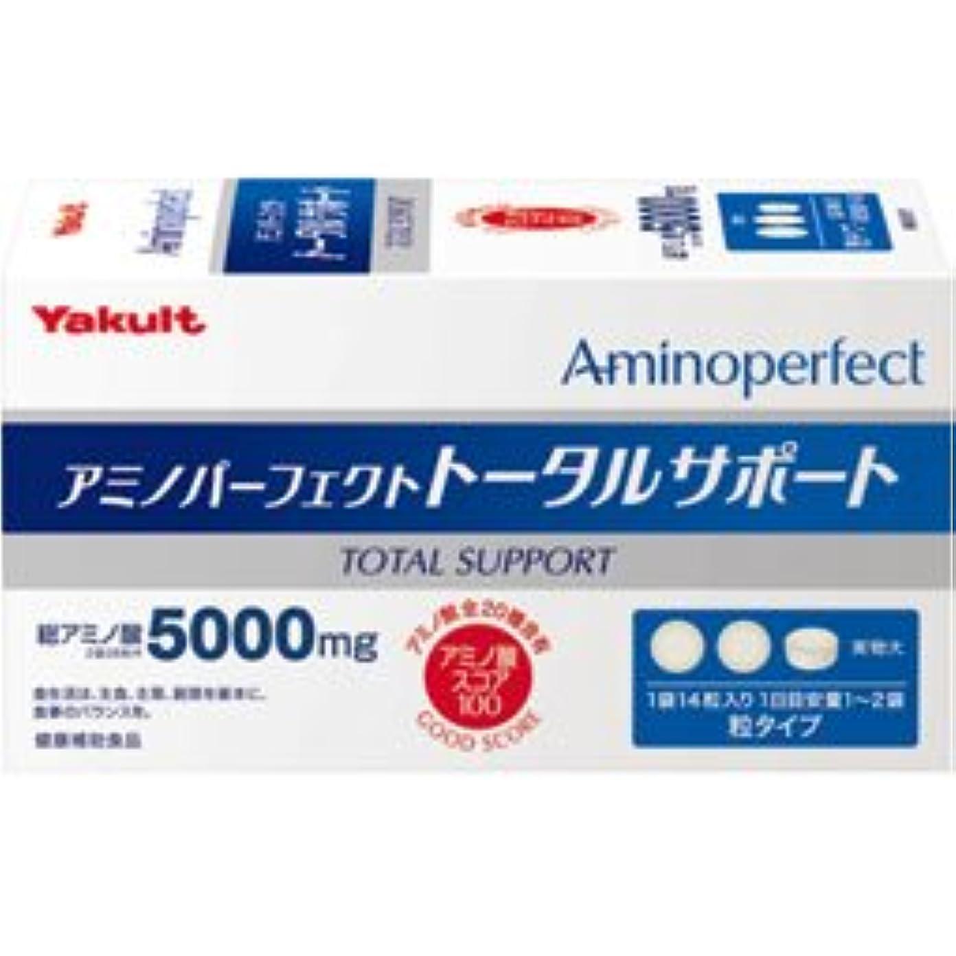 書誌本体機械的アミノパーフェクト トータルサポート14粒×30袋 2個パック