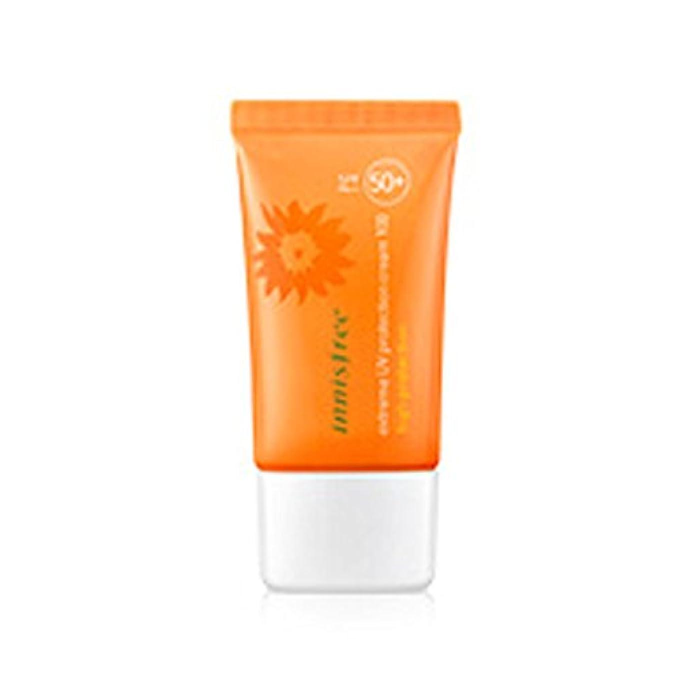 騒々しい安定した黒くするイニスフリーエクストリームUVプロテクションクリーム100ハイプロテクション50ml   SPF50 + PA +++ Innisfree Extreme UV Protection Cream100 High Protection...