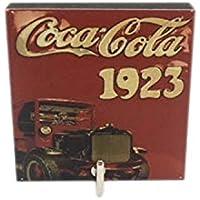Agilityバスルーム壁ハンガー帽子バッグキー粘着木製フックヴィンテージCoca Cola 1923年の写真