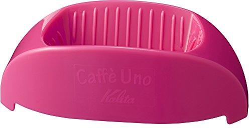 カリタ コーヒードリッパー 1杯専用 カフェ・ウノ ピンク #04023
