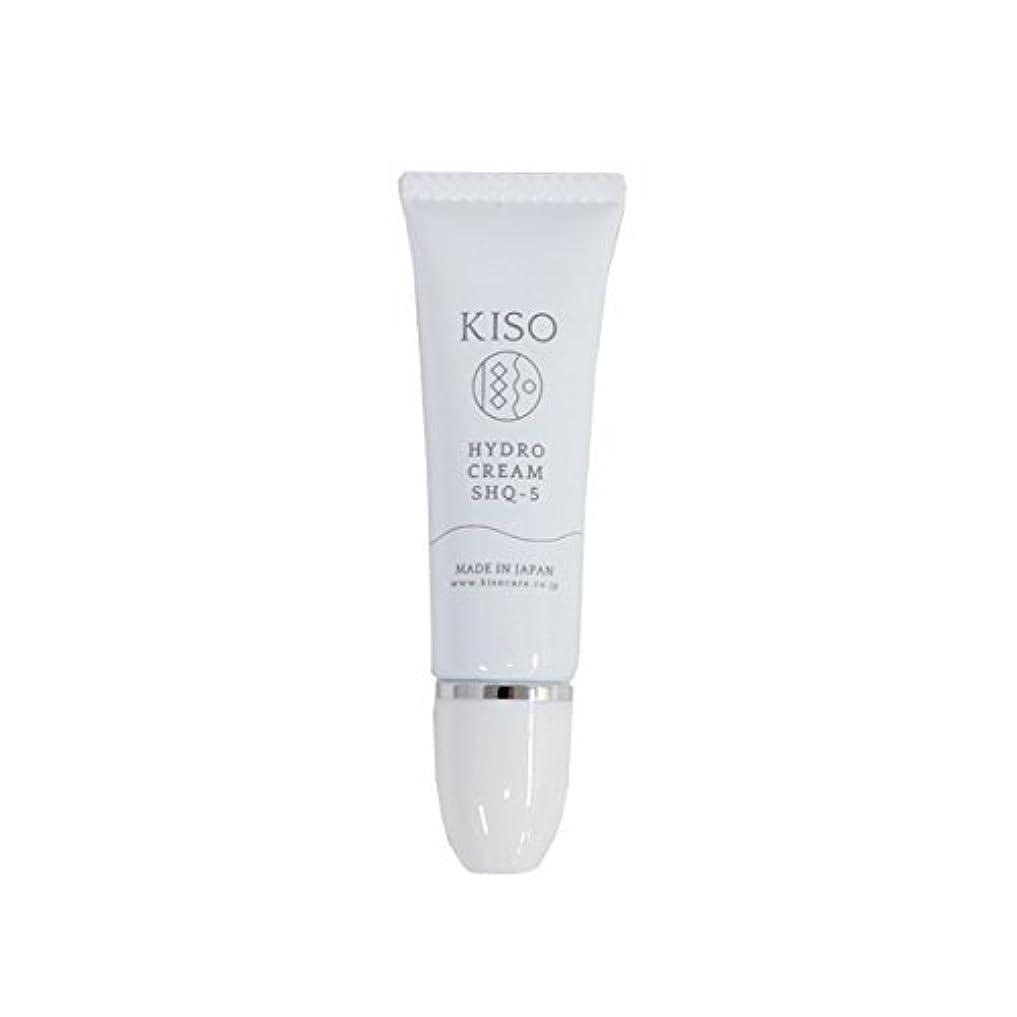 トランジスタぜいたく肥沃なKISO 安定型 ハイドロキノン 5%配合【ハイドロ クリーム SHQ-5 10g】スキンケアで肌を整えた後にちょこっとケア 日本製