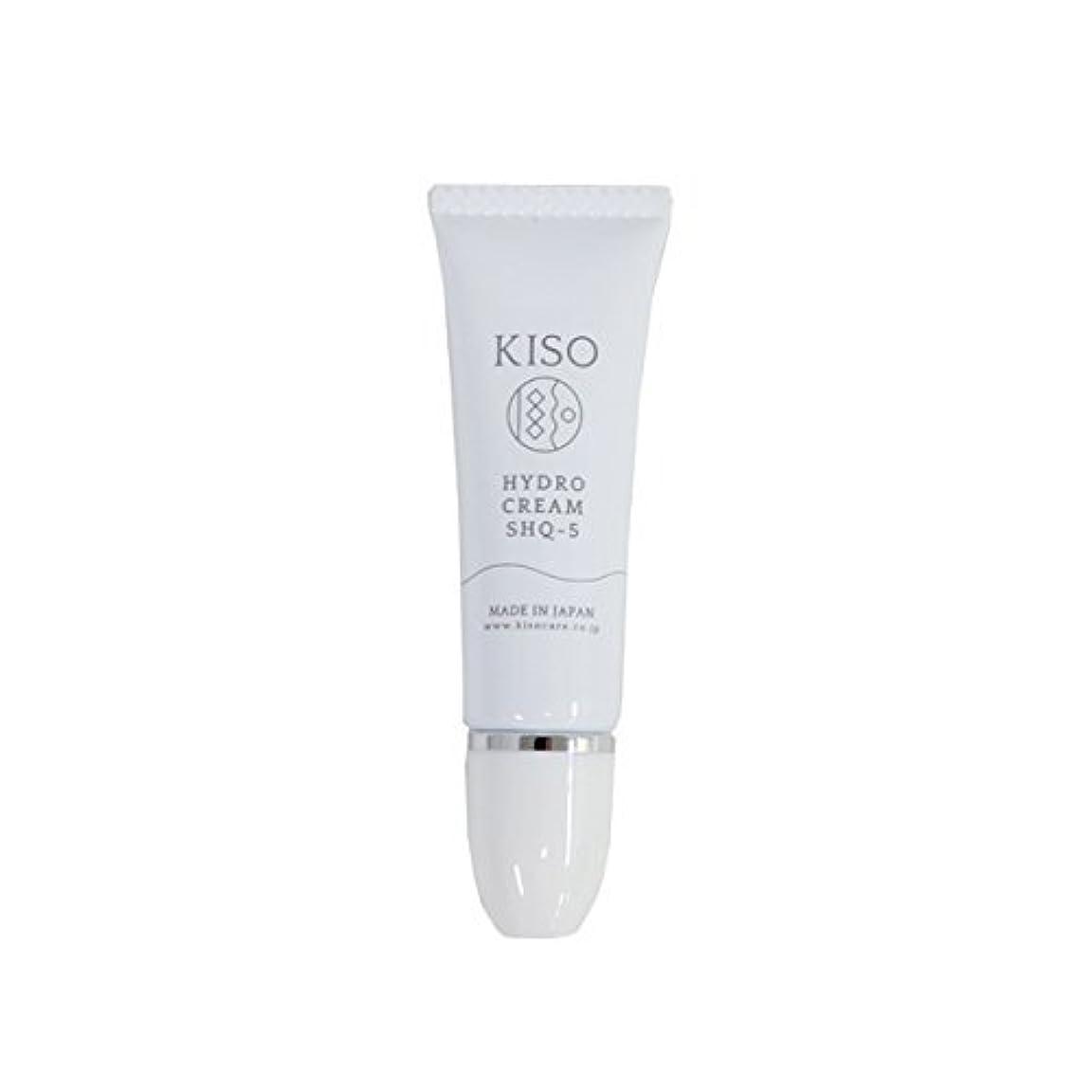 カウントアップ無条件スイス人KISO 安定型 ハイドロキノン 5%配合【ハイドロ クリーム SHQ-5 10g】スキンケアで肌を整えた後にちょこっとケア 日本製