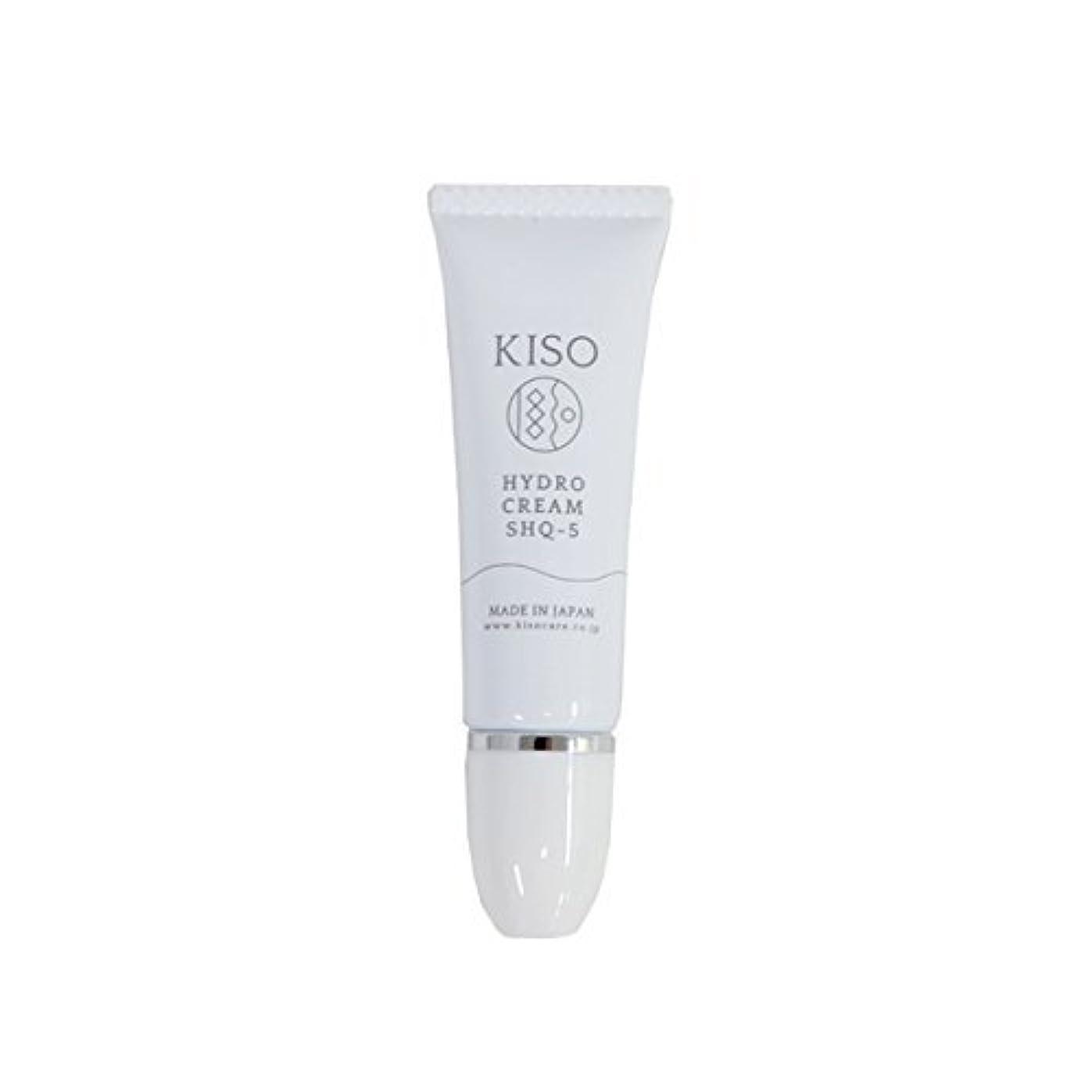 保持する攻撃間違いなくKISO 安定型 ハイドロキノン 5%配合【ハイドロ クリーム SHQ-5 10g】スキンケアで肌を整えた後にちょこっとケア 日本製