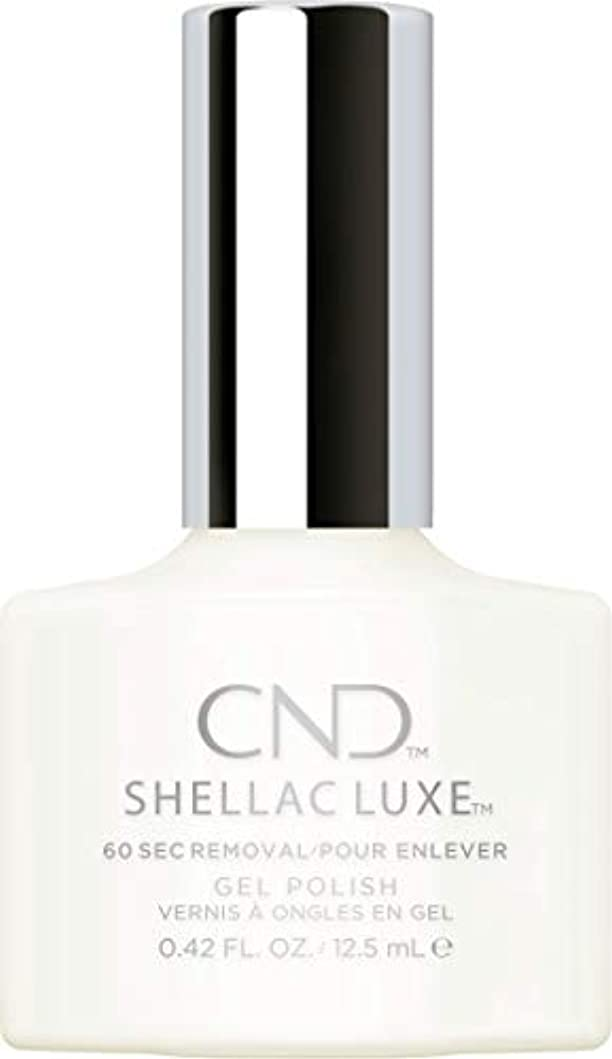 回転換気するミリメートルCND Shellac Luxe - Studio White - 12.5 ml / 0.42 oz