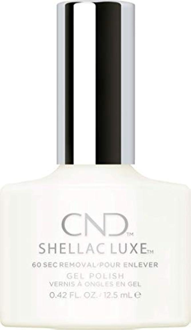 批判的精算側溝CND Shellac Luxe - Studio White - 12.5 ml / 0.42 oz